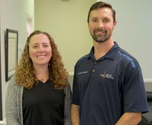 Dr. Steve and Amber Goeddeke